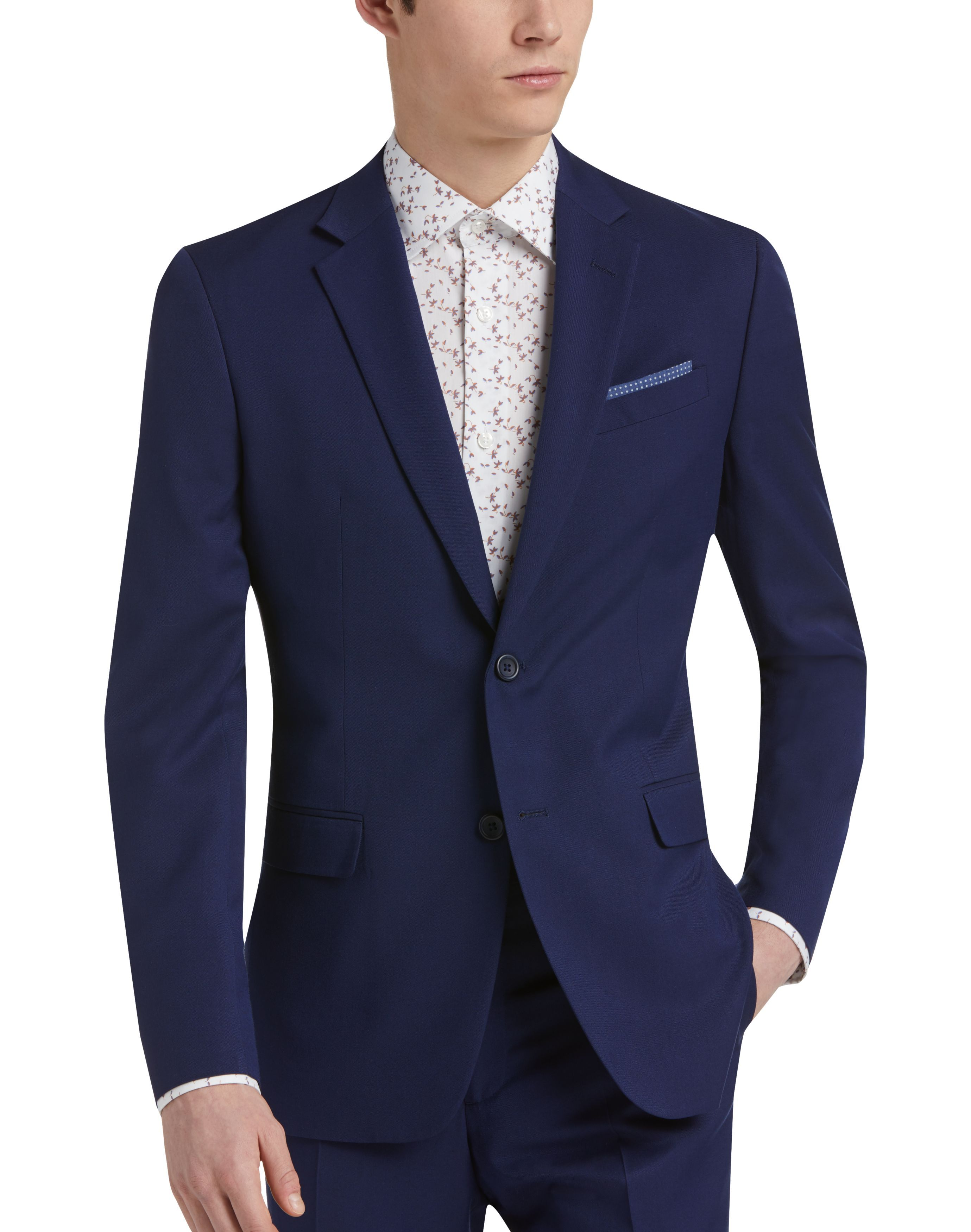 Egara Orange Blue Extreme Slim Fit Suit Men S Suits Slim Fit