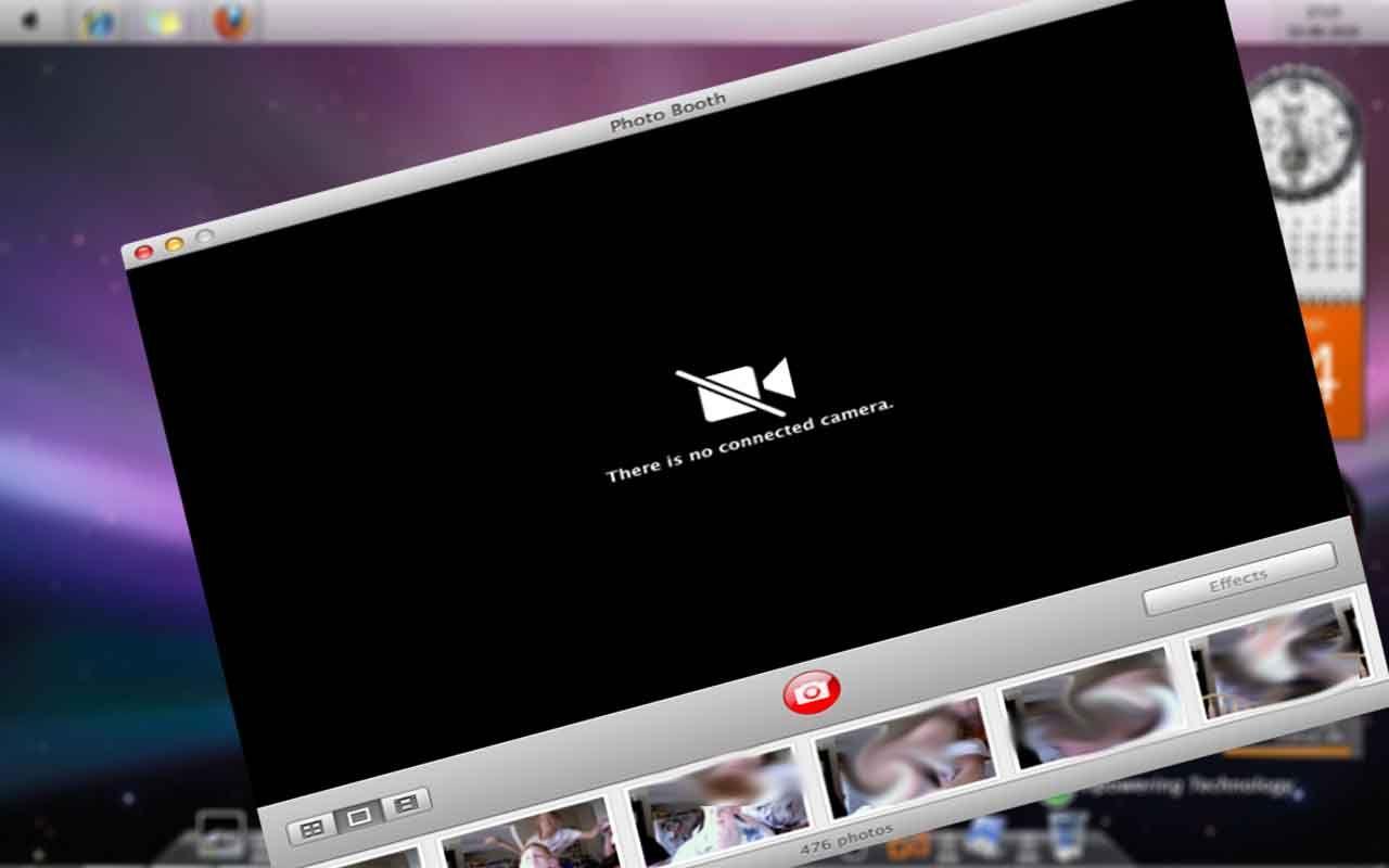 Macbook Camera Effect