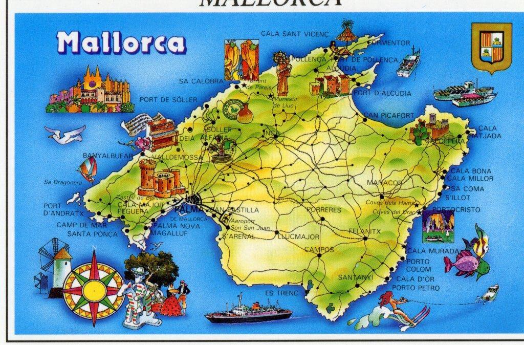 Imagen De Http Www Quetiempo Es Fotos Mapa De Palma De Mallorca