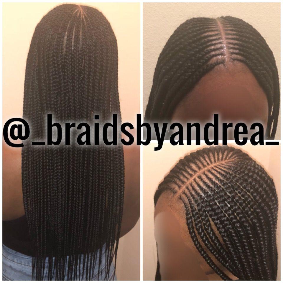 2 In 1 Feed In Natural Hair Styles Braids For Black Hair Hair