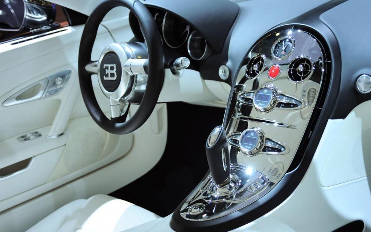 Bugatti Veyron Inside The Fastest Car In The World Bugatti Veyron