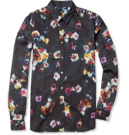 PS by Paul Smith Printed Cotton Shirt | MR PORTER ($200-500 ...