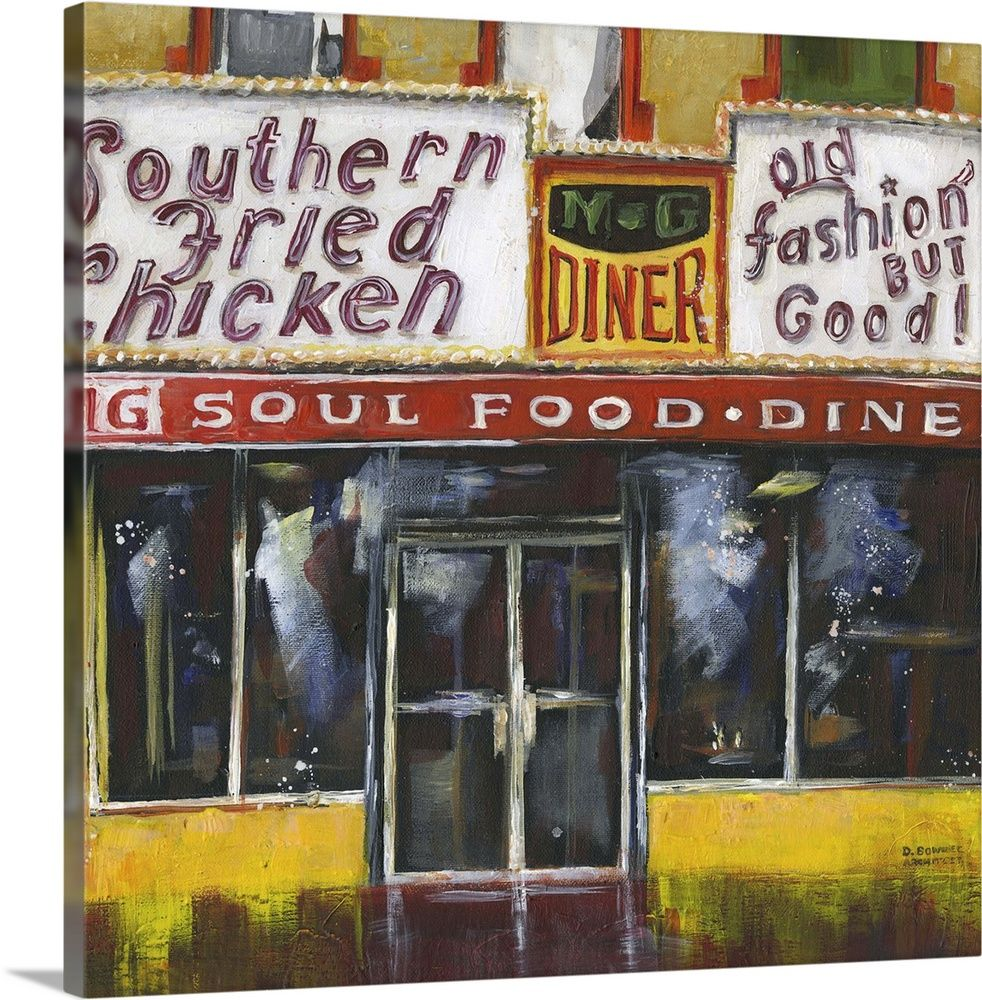 Harlem Soul Food Wall Art Canvas Prints Framed Prints Wall Peels In 2020 Food Wall Art Wall Art Canvas Prints