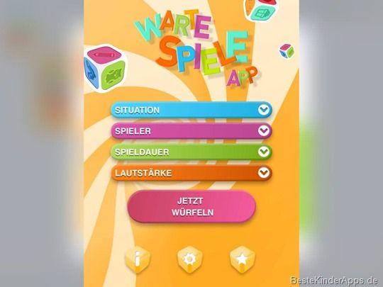 Warte Spiele App