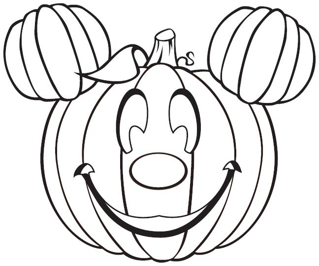 Free Disney Halloween Coloring Pages  Disney Coloring and Face