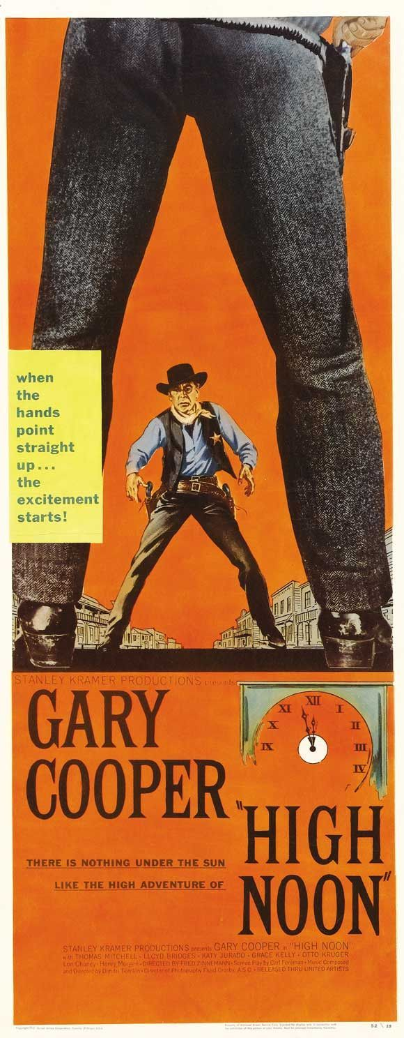 High Noon 14x36 Movie Poster (1952) | My 10 Favorite Westerns ...