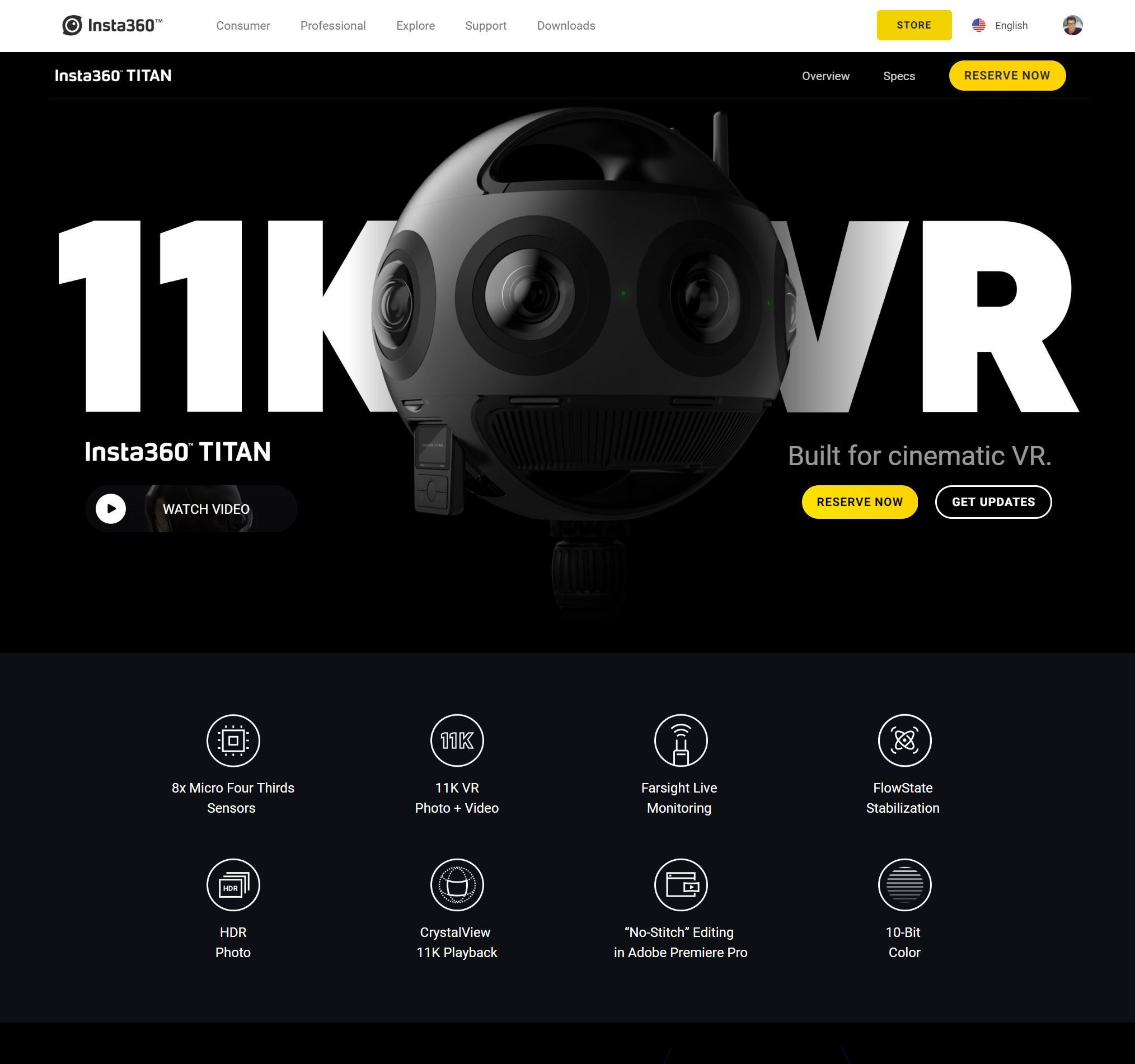 Are you ready for 11K 360 VR??? The TITAN is coming