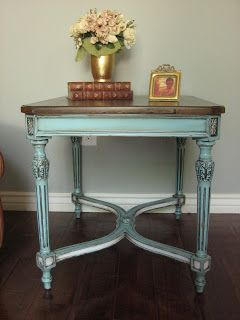 Insane before and after remodels.  Great way to spruce up tired furniture!