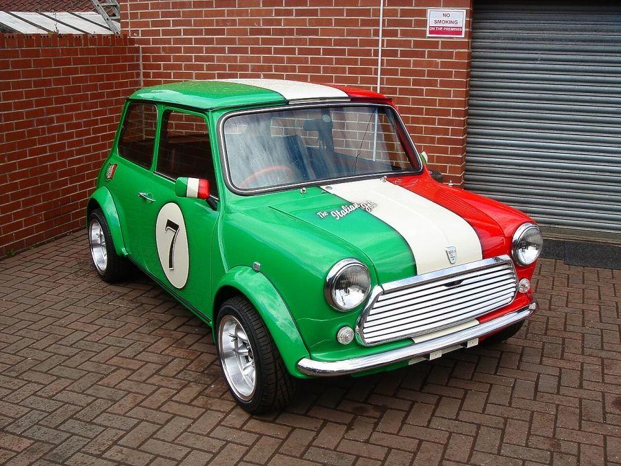 Classic Mini PL Special Italian Job Mini driver, Classic