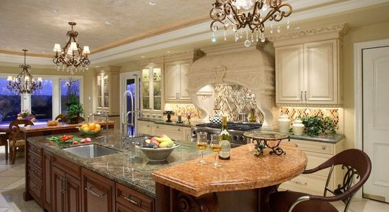 Elegant french country kitchen ideas Deco Pinterest French - French Country Kitchens