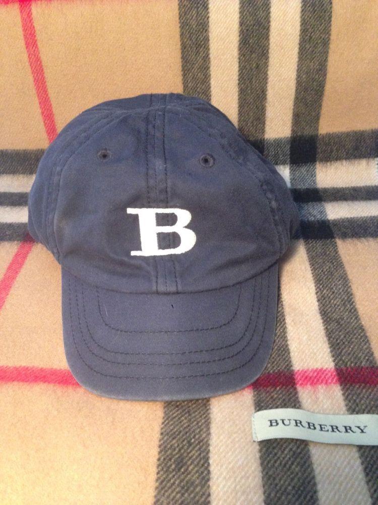 baby burberry cap
