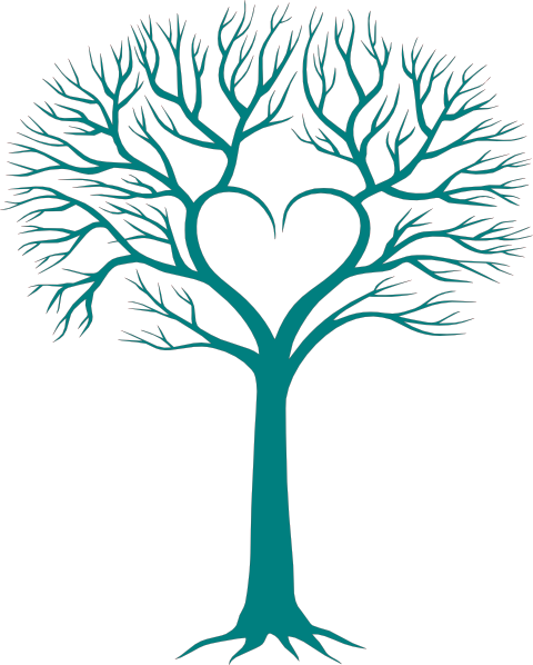 Family Tree With Heart Clip Art Family Reunion Heart Clip Art