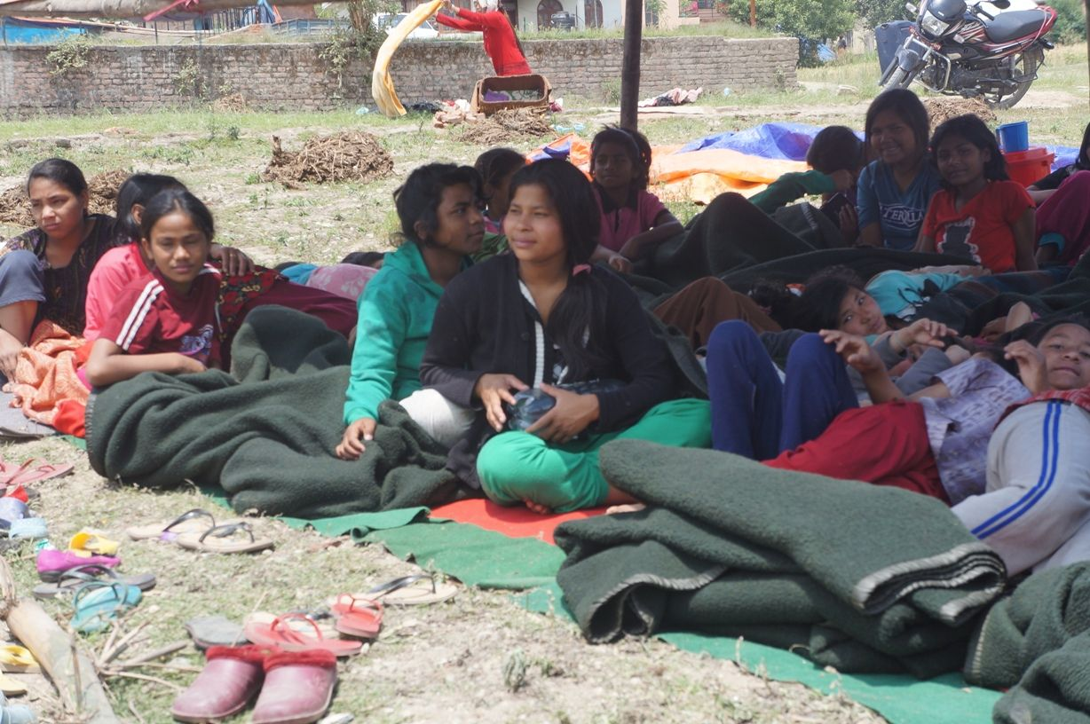 Update Saturday May 2 from friends in Nepal
