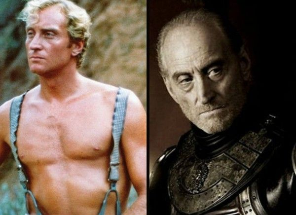The 'Game of Thrones' Cast Then and Now | Charles dance, Game of thrones cast, Then and now photos