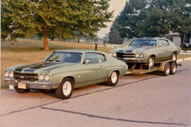 A 1970 Chevrolet Chevelle Drag Car Handed Down From Teacher To