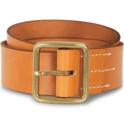 Photo of Red Wing Shoes Vegetable Leather Belt Natural Tan English Bridle Red Wing