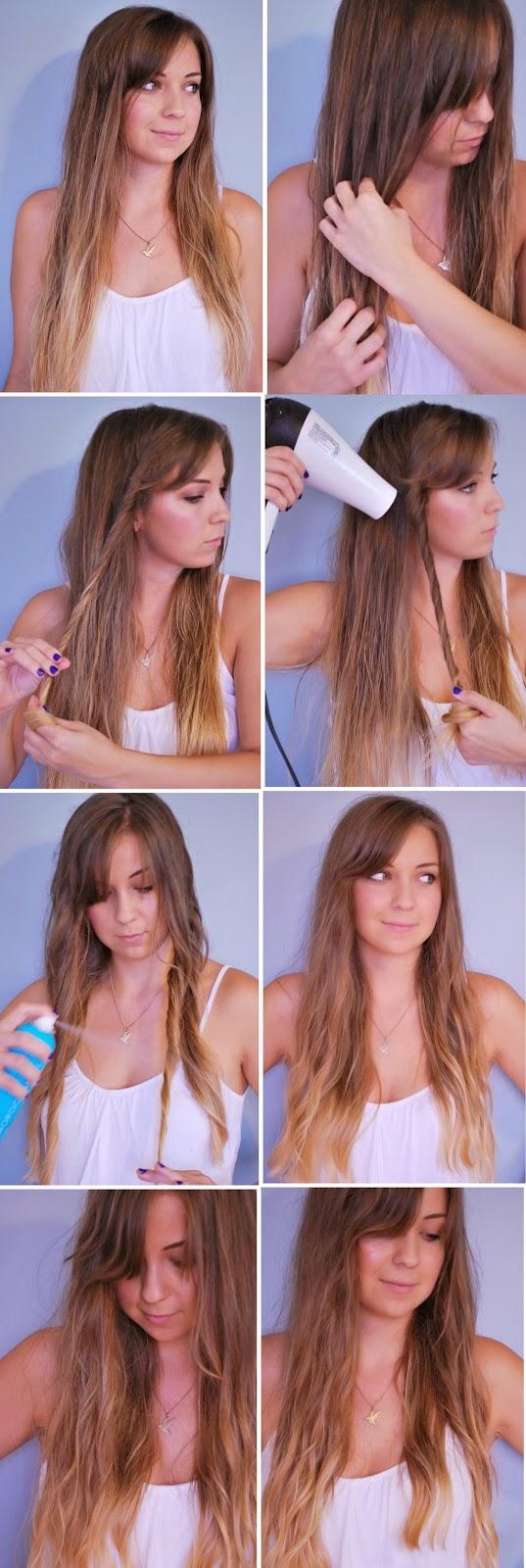 blow dryer waves   frisuren tipps, frisuren und hübsche