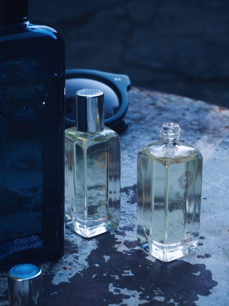 Hermes Eau De Citron Noir And Musc Pallida And Cardamusc Pure