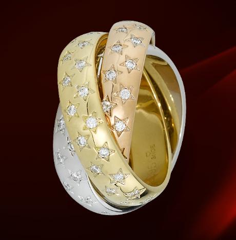 Cartier stars ring