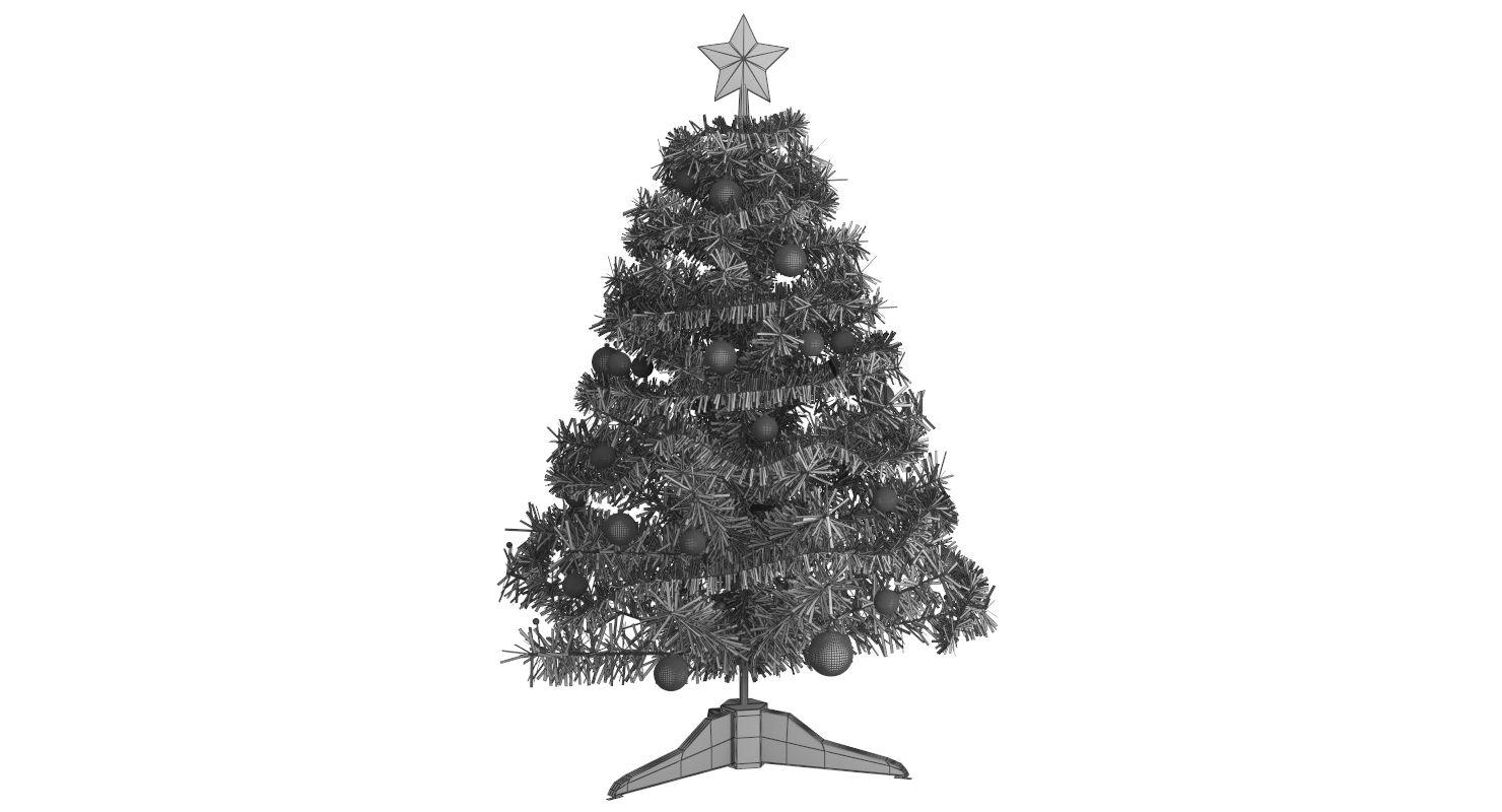 Artificial Christmas Tree Artificial Christmas Tree Christmas Tree 3d Model White Christmas Trees