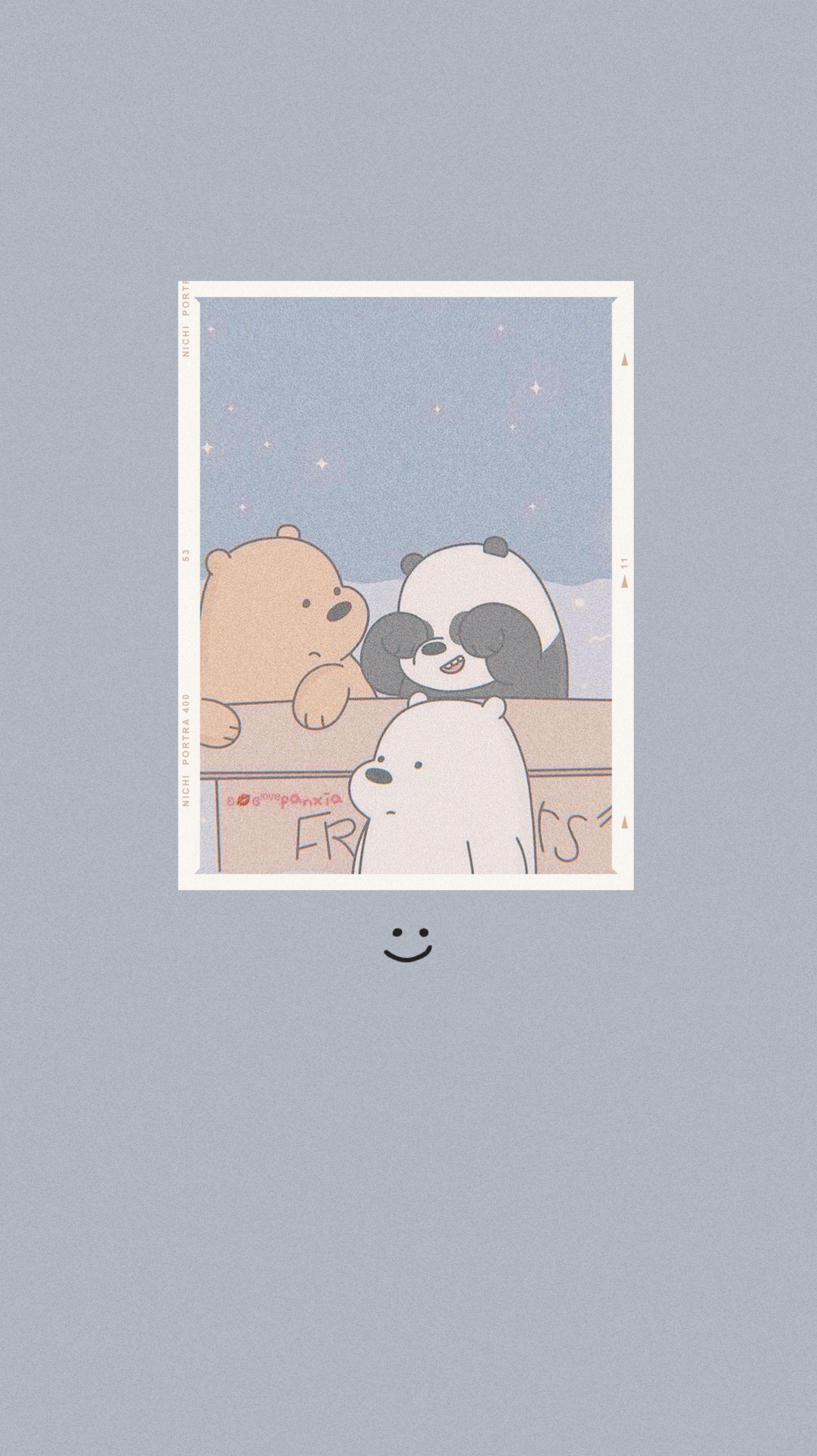 W E B A R E B E A R S Cartoon Wallpaper Bear Wallpaper Cute Panda Wallpaper
