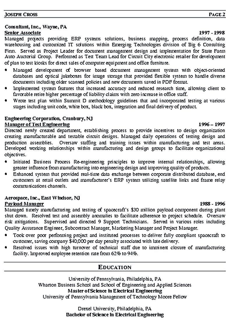 Operation Manager Resume It Manager Resume Consist Of Objective Or Summary Skills And Also