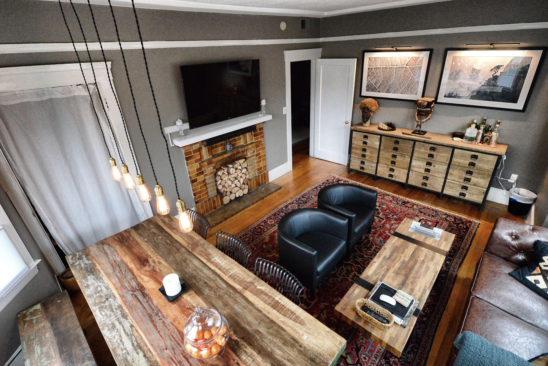 New living room restoration hardware slate gray paint for Restoration hardware living room furniture