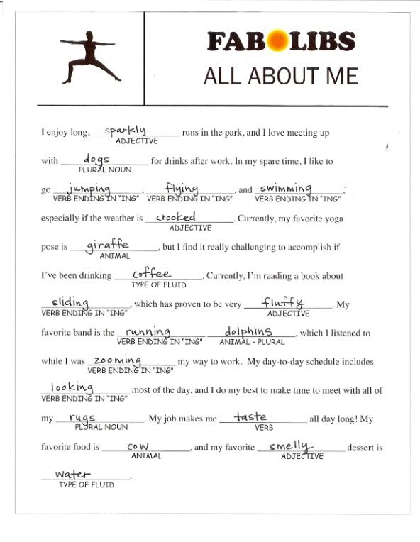 Image result for Free Adult Mad Libs | Mad libs | Mad libs