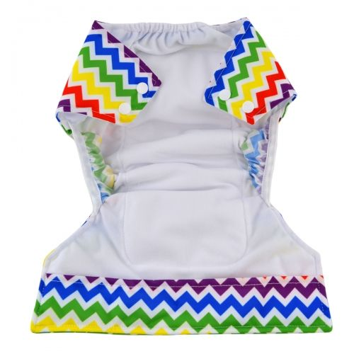 Alva Baby New Design All in One Cloth Diaper Sewn with Microfiber Insert.