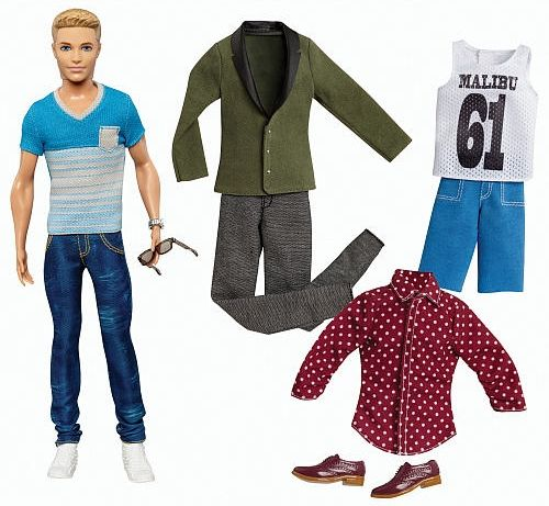 Ken knows how to put together a nice outfit too! #BarbiesFavorites