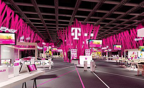 Deutsche Telekom auf der IFA 2013. Booth display design