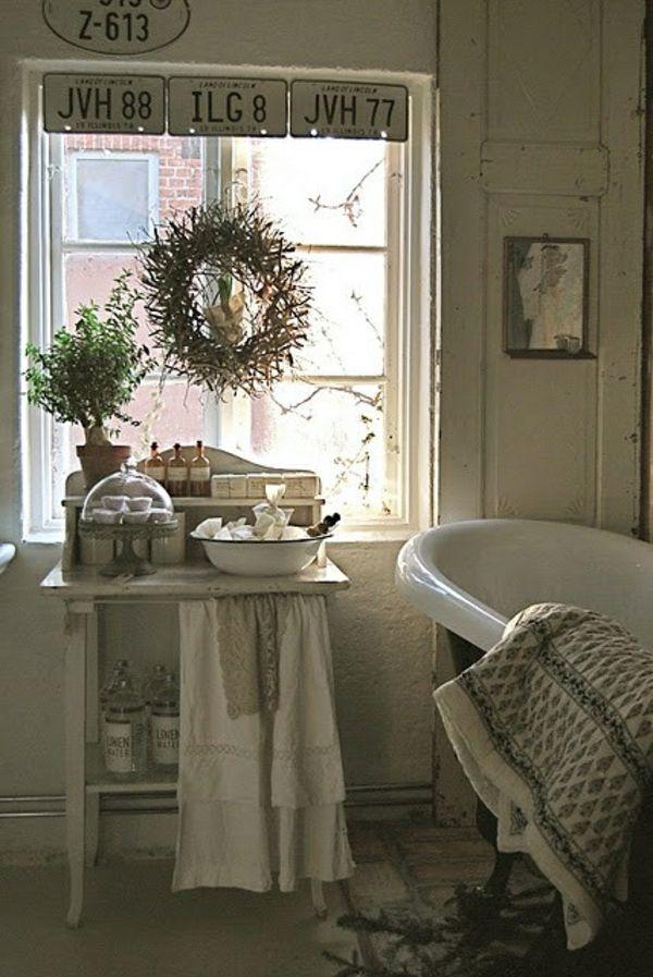vintage stil badezimmer organisation idee von uns i 39 d live there badezimmer vintage. Black Bedroom Furniture Sets. Home Design Ideas