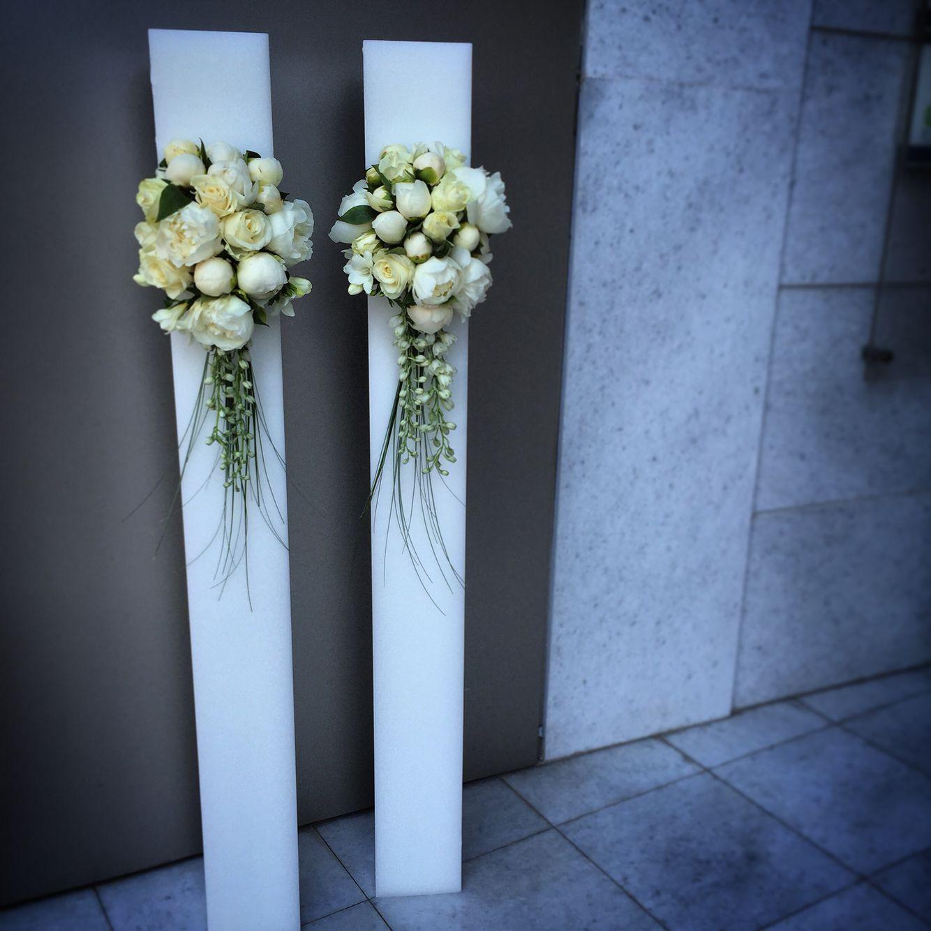 13db674c7c63 Λαμπάδες γάμου wedding candles Γαμήλιες Προσκλήσεις