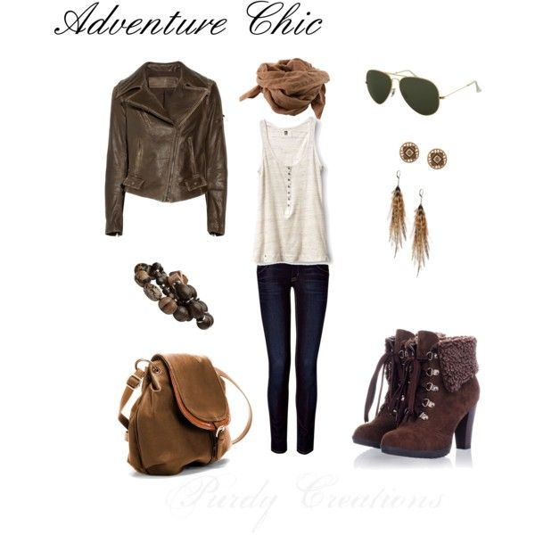 """Adventure Chic"" by gcwfarmgirl on Polyvore"