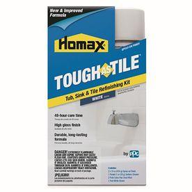 Tough As Tile White High Gloss Tub And Tile Resurfacing
