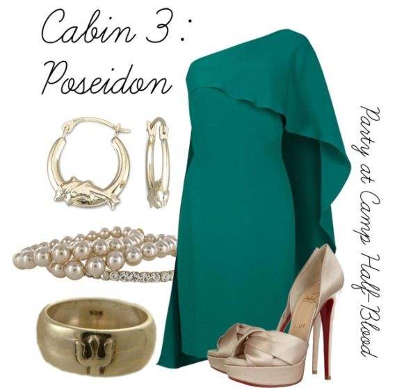 Cabin 3- Poseidon- Party