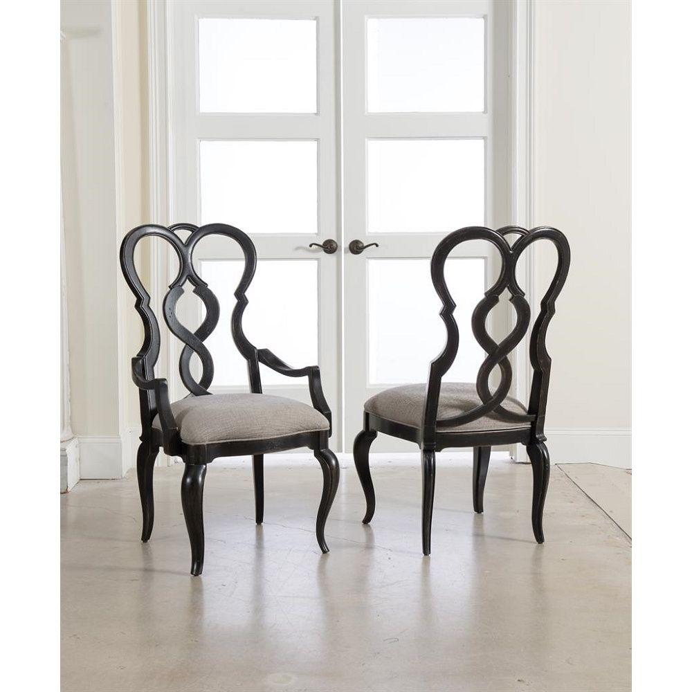 Auberose Splatback Side Chair 1595 75310b Ltbk By Hooker Furniture