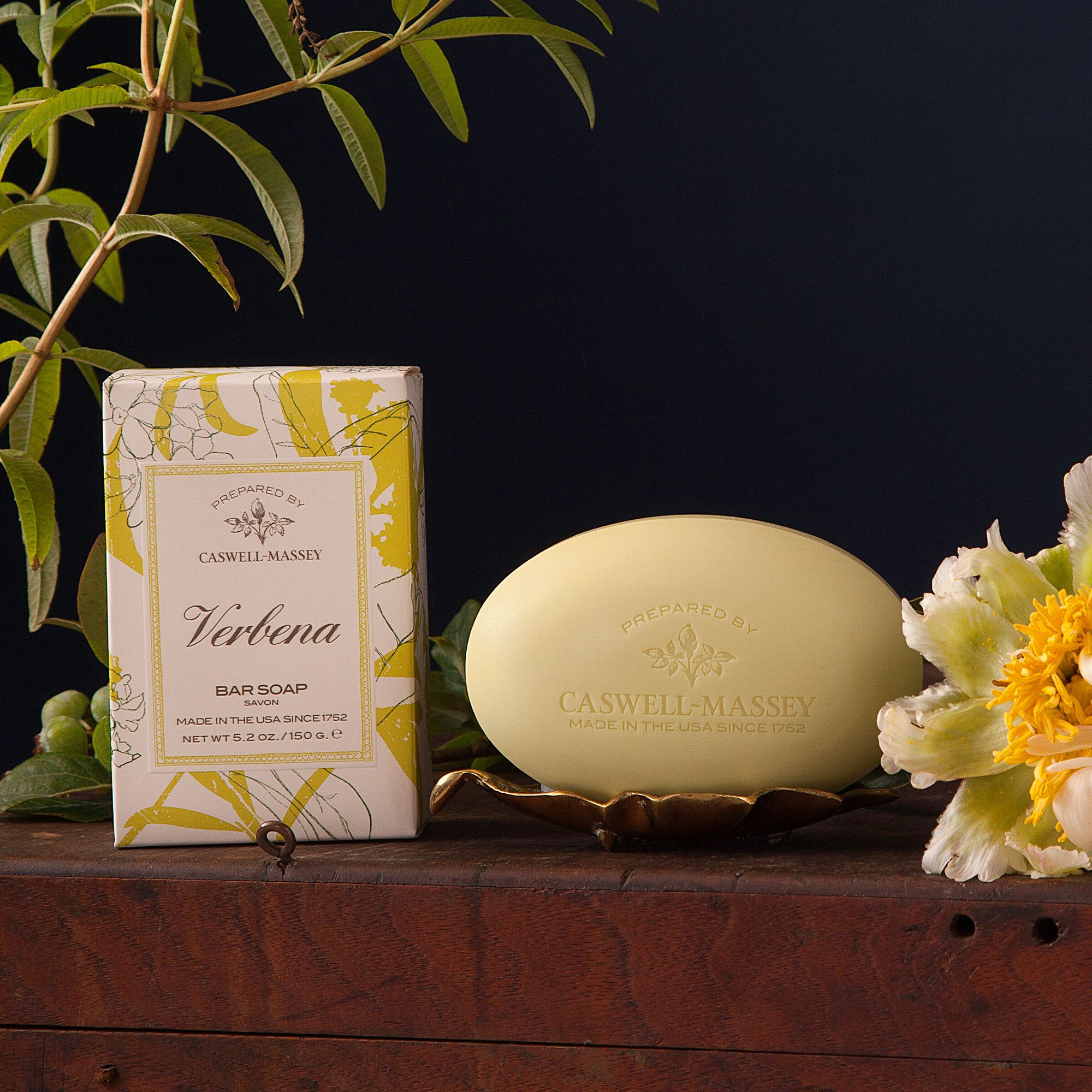 More than 240 different species make up the Verbena family. Our collection uses hints of Mandarin, Spearmint, Basil and Cyprus to create a refreshing experience that revitalizes, replenishes and deeply hydrates the body. Our vegetable-based, Verbena Bar Soap gently cleanses the skin without drying or stripping it of natural oils.  Made in the USA Paraben Free Sulfate Free Phthalate Free Not Tested on Animals  Size, Quantity and Packaging  Verbena Bar Soap One 5.2 oz (150 g...