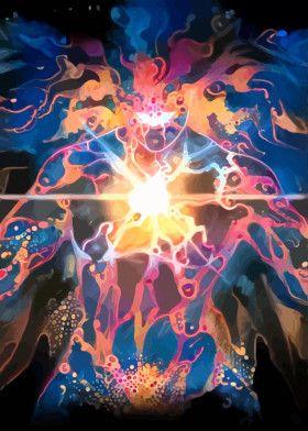 Light Monster | Displate thumbnail