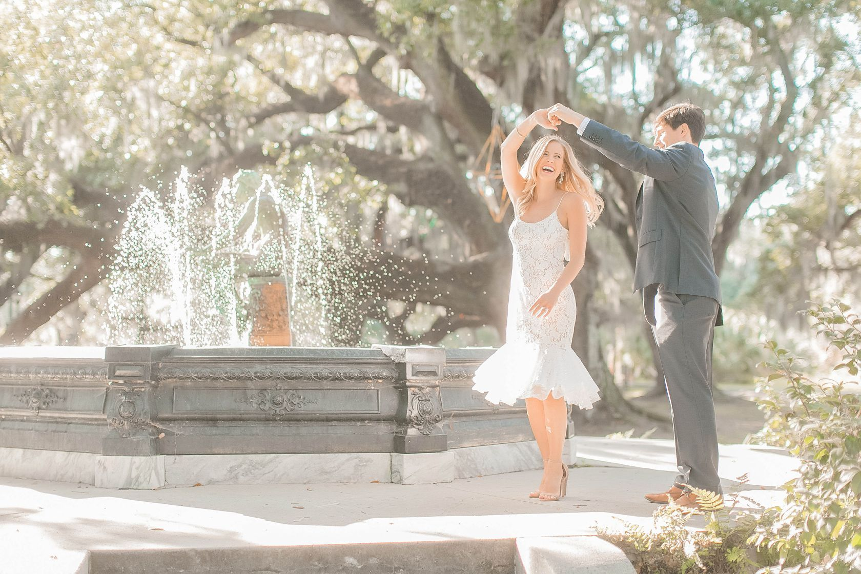 New Orleans City Park Engagement | New Orleans Wedding Photographers -  new orleans city park engagement photo by the fountain dancing New Orleans engagement session Arte  - #city #Engagement #EngagementPhotosafricanamerican #EngagementPhotosbeach #EngagementPhotoscountry #EngagementPhotosfall #EngagementPhotosideas #EngagementPhotosoutfits #EngagementPhotosposes #EngagementPhotosspring #EngagementPhotoswinter #EngagementPhotoswithdog #Orleans #Park #Photographers #summerEngagementPhotos #uniqu