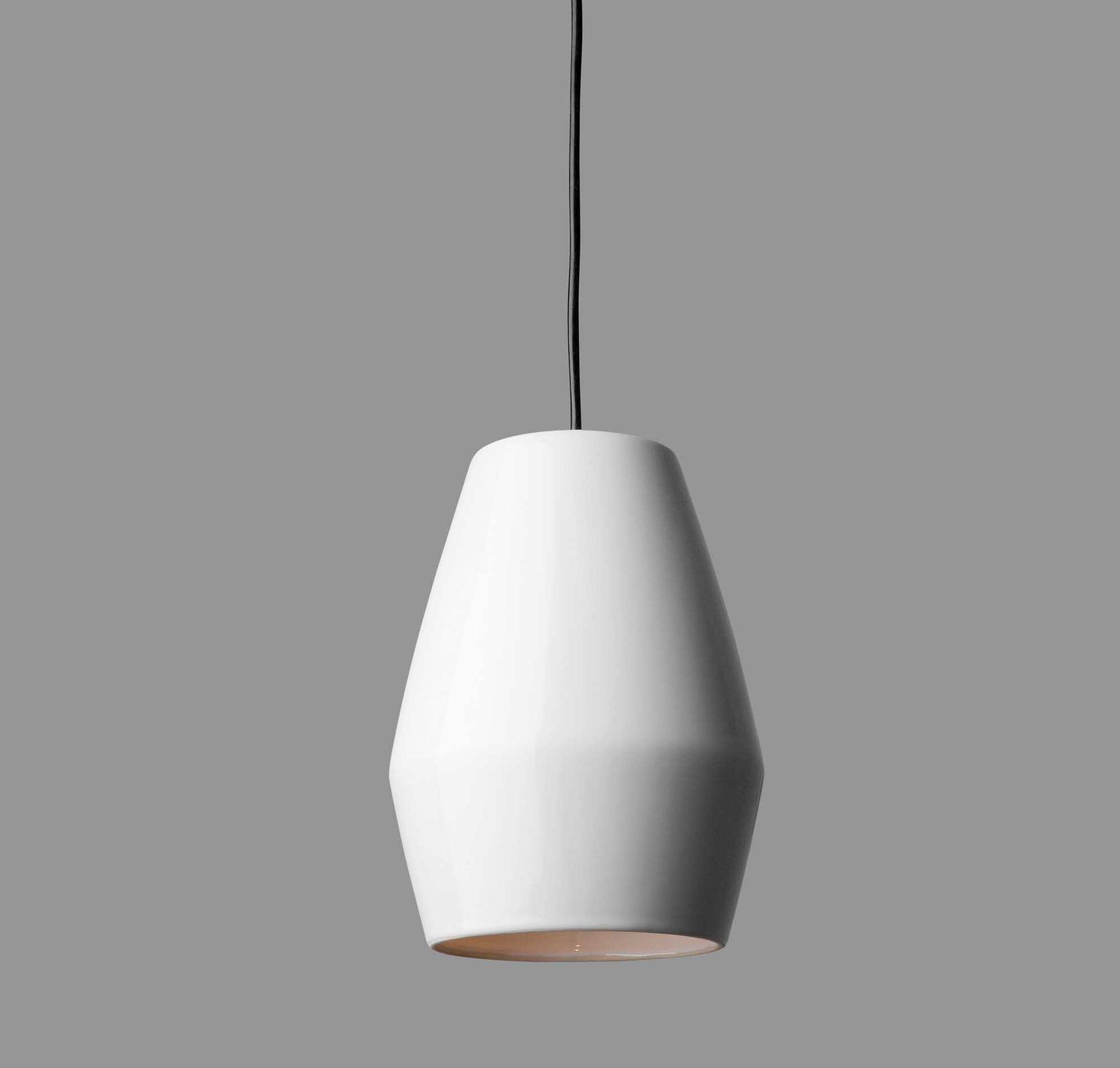 Suspension Bell blanc H28cm Northern Lighting