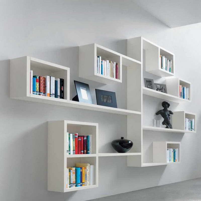 Best-Modern-Modular-Shelving-With-Unique-Sculpture-Decorationjpg
