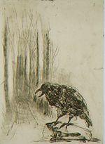 Markus Lupertz (1941-) Abend #2 (1999) Gravure met droge naald, 20 afdrukken, 90 x 120