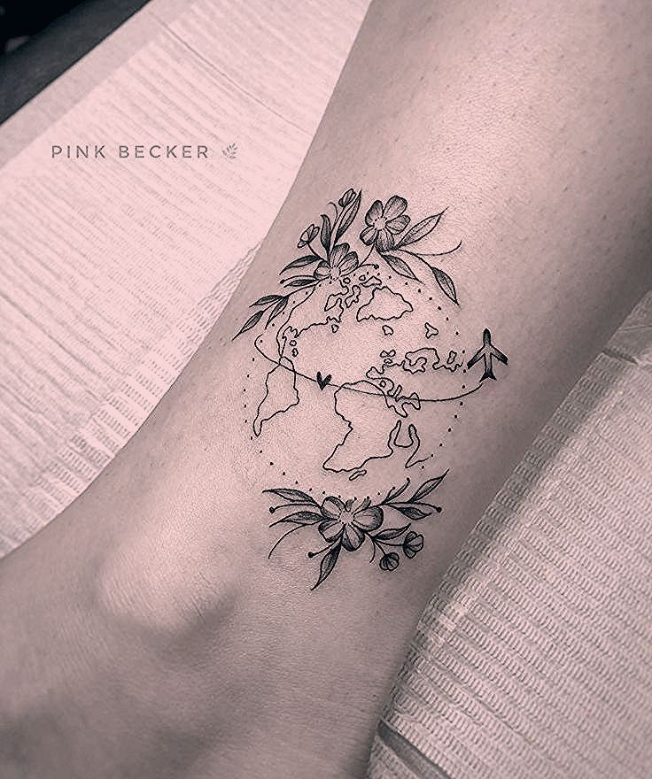 Photo of Travel Tattoo? See who are the artists references in the theme.