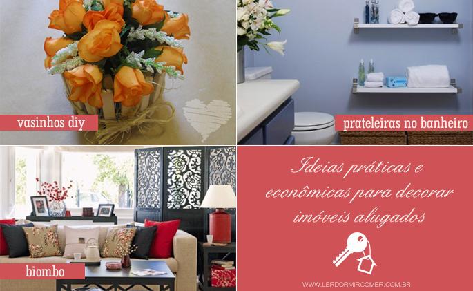 Dicas práticas e econômicas para decorar uma casa alugada