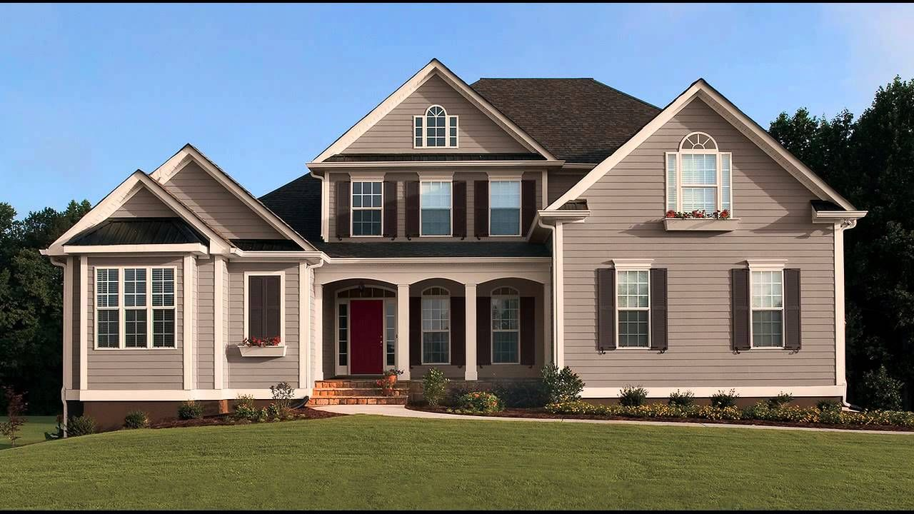 23 story home with beige siding - Google Search  Exterior paint