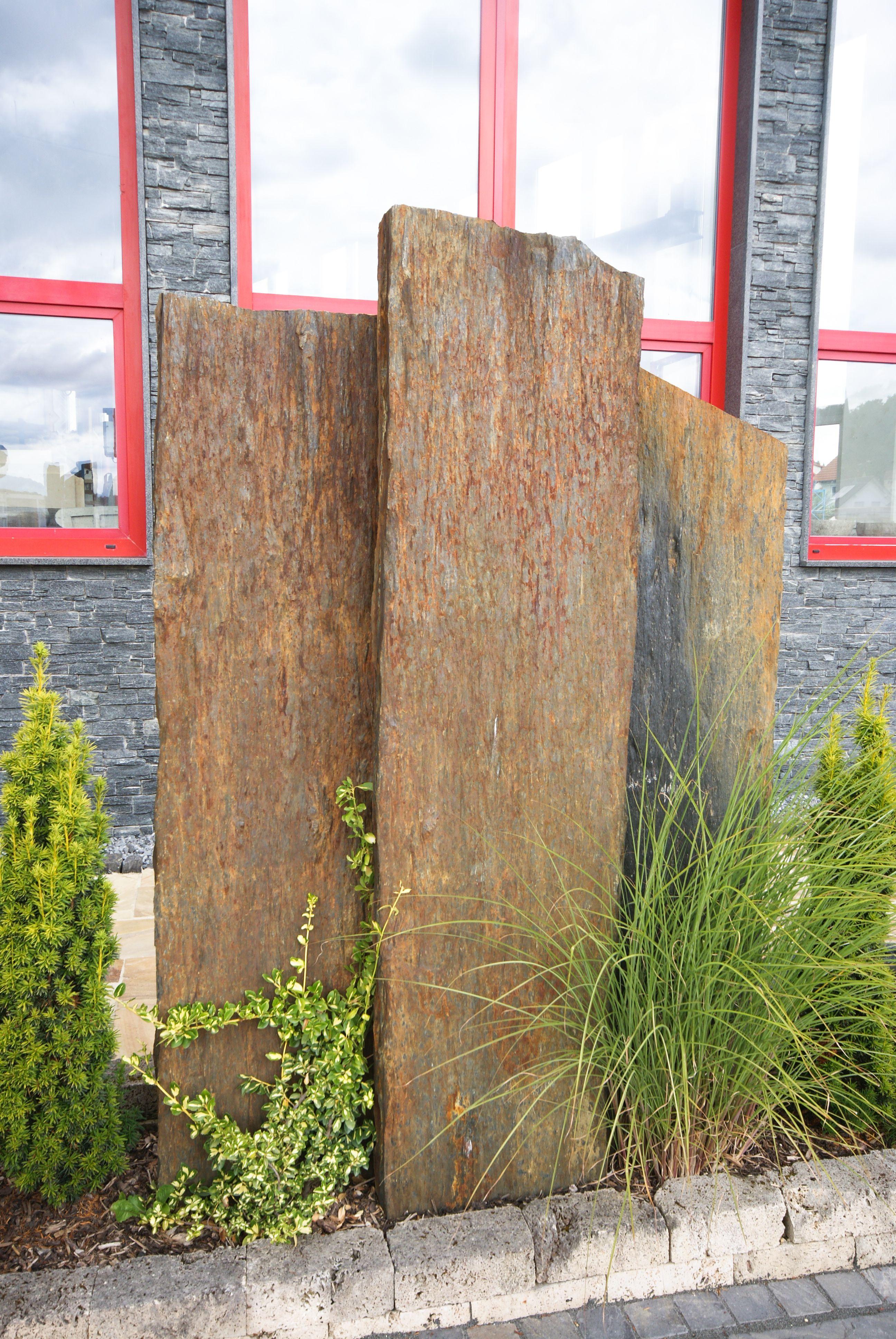 Sichtschutz im Garten Bäumler Natursteine in 73340