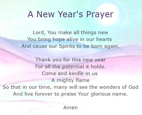 new year blessing prayers new years prayer prayer for family