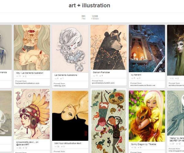 26 Top Digital Art Illustrations Boards To Follow On Pinterest