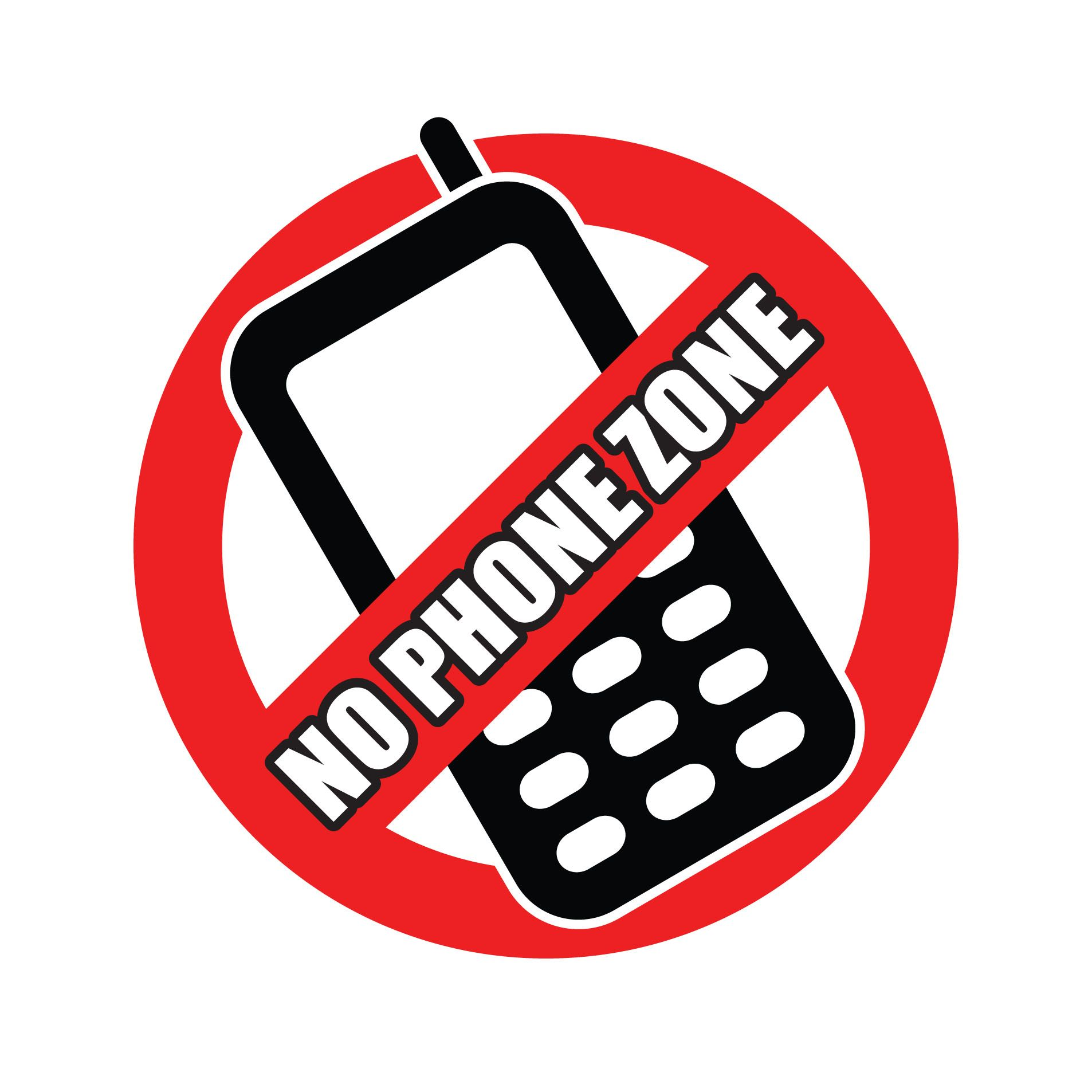 No Cell Phone Zone printable sign | Printable Inspiration ...